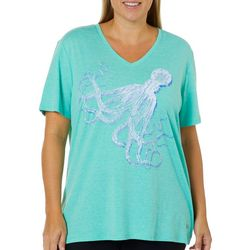 Reel Legends Plus Reel Fresh Octopus T-Shirt