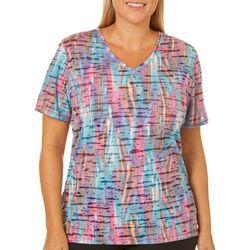 Reel Legends Plus Reel Fresh Colorful Burnout T-Shirt