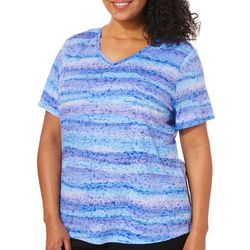 Reel Legends Plus Reel Fresh Twinkle Stripes T-Shirt