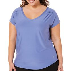 VOGO Plus Solid V-Neck Performance T-Shirt