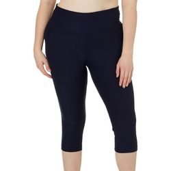 Absolutely Fit Plus Solid Performance Capris