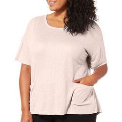 Harmony Balance Plus Snow Jersey Pocket T-Shirt