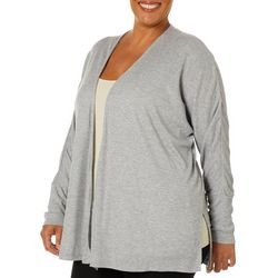 Harmony Balance Plus Heathered Fly Away Cardigan