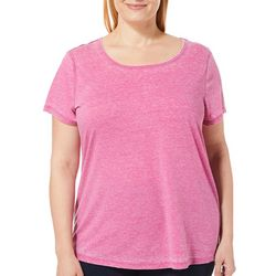0ff24828467aa9 RBX Plus Heathered Round Neck Top