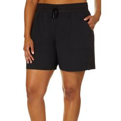 RBX Plus Solid Drawstring Shorts