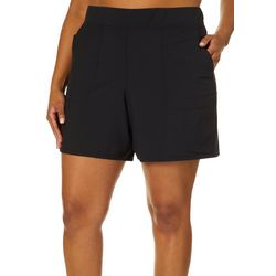 RBX Plus Solid Quick Dry Cargo Shorts