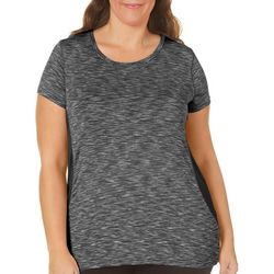 NYL Sport Plus Space Dyed Mesh Side T-Shirt