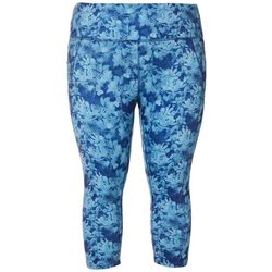 RB3 Active Plus High Waist Floral Print Capri