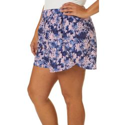 RB3 Active Plus Floral Print Athletic Shorts