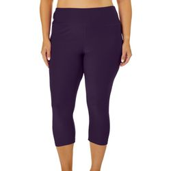 RB3 Active Plus High Waist Solid Capri Leggings