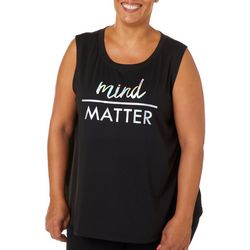 M Plus Mind Over Matter Sleeveless T-Shirt
