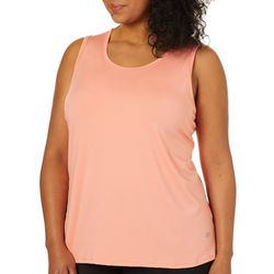 Marika Plus Reed Vented Back Tank Top