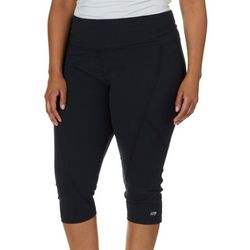 Marika Plus Solid Slimming Capri Leggings