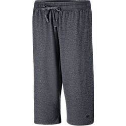 Champion Plus Solid Oxford Grey Jersey Capris