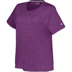 Champion Plus Solid Double Dry Heathered Tee