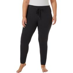FUDA Plus Solid Athletic Drawstring Pants