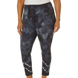Brisas Plus Tie Dye Print Leggings