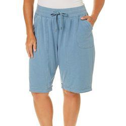 FUDA Plus Drawstring Bermuda Shorts