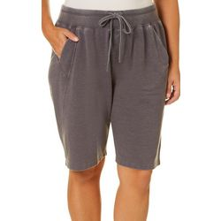 FUDA Plus Solid Heathered Bermuda Shorts
