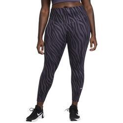 Plus Zebra Leggings Full Length
