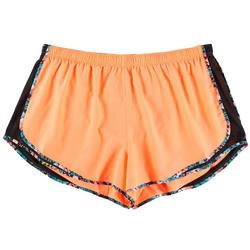 Plus Bright Running Shorts