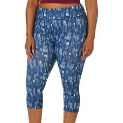 Yogatech Plus Cloud Window Printed Stretch Capris