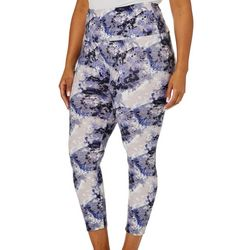 Nicola Plus High Rise Tummy Control Tie Dye Leggings