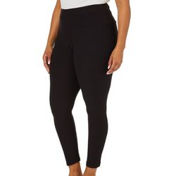 Nicola Plus High Rise Tummy Control Solid Leggings