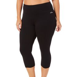 Spalding Plus High Waist Capri Leggings
