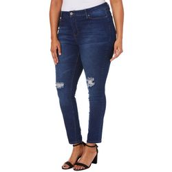 e6b4be3e768 Royalty by YMI Juniors Plus Hide Your Muffin Top Denim Jeans