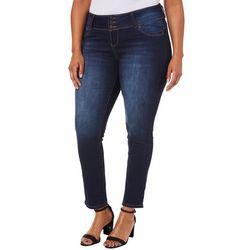 Royalty by YMI Juniors Plus WannaBettaButt Skinny Jeans