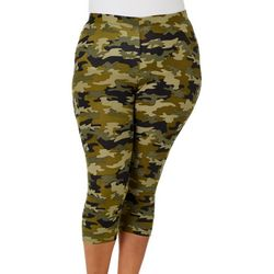 Eye Candy Juniors Camoflauge Print Leggings