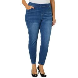 Celebrity Pink Juniors Plus Compression Denim Jeans