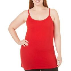 Derek Heart Juniors Plus Solid Camisole