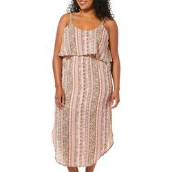 Full Circle Trends Juniors Plus Oasis Boho Maxi Dress