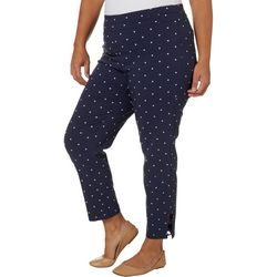 Joe Benbasset Juniors Plus Dotted Millennium Ankle Pants