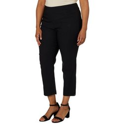 Joe Benbasset Juniors Plus Solid Millennium Ankle Pants