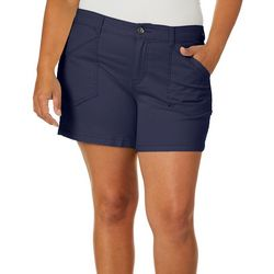 Supplies by Unionbay Juniors Plus Alix Twill Shorts