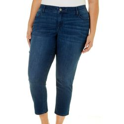 Dept 222 Plus Solid Stretch Ankle Jeans