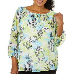 Plus In The Limelight Pull Over Top