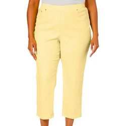 Hearts of Palm Plus Citrus Blast Crop Jeggings