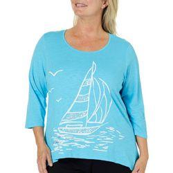 Caribbean Joe Plus Embellished Sailboat Top