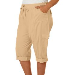 Fresh Plus Solid Pull On Skimmer Shorts