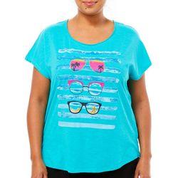 Caribbean Joe Plus Tropical Sunglasses Top
