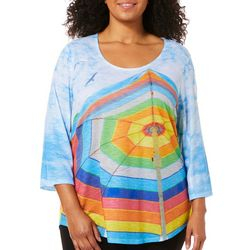 SunBay Plus Printed Beach Umbrella Top