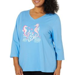 SunBay Plus Seahorse Friends Top