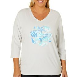 SunBay Plus Icy Shells Top