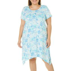 SunBay Plus Icy Shells Print Dress