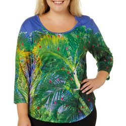 SunBay Plus Tropical Palm Tree Light Holiday Top