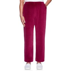 Alfred Dunner Plus Solid Pull On Pants